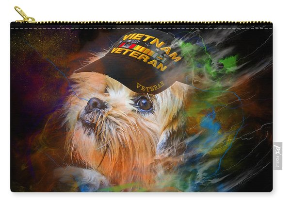 Tribute To Canine Veterans Carry-all Pouch