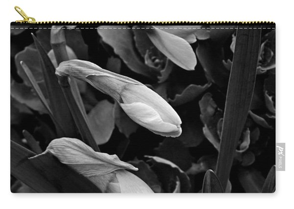 Trio Of Daffodil Buds Carry-all Pouch