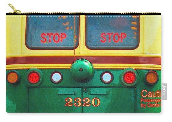Trolley Car - Digital Art Carry-all Pouch