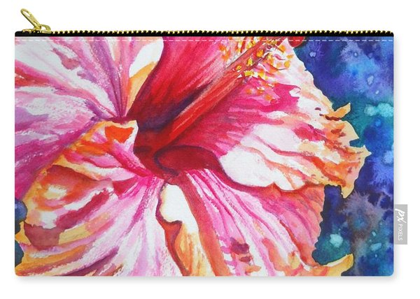 Tropical Hibiscus 4 Carry-all Pouch