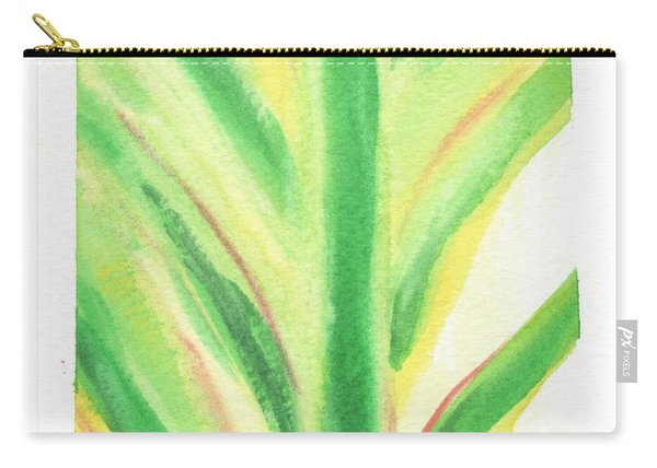 Tropical Leaf Carry-all Pouch