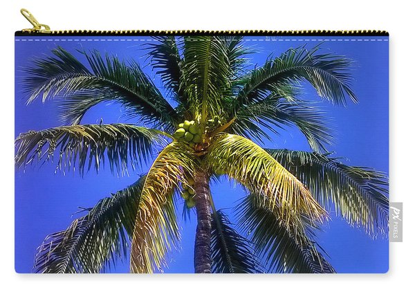 Tropical Palm Trees 8 Carry-all Pouch