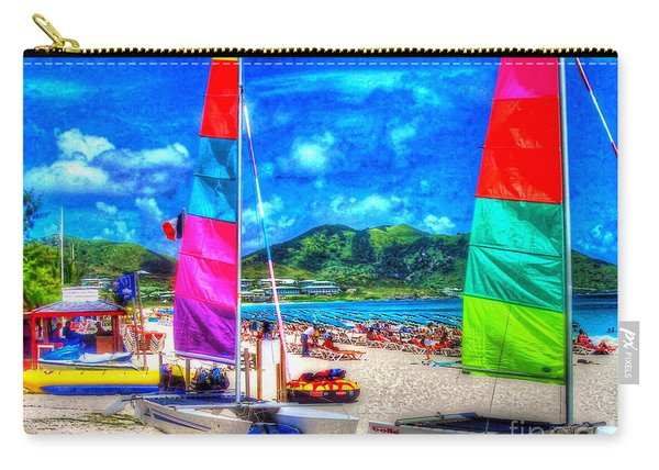 Tropical Sails Carry-all Pouch