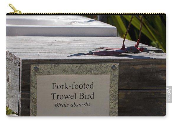 Trowel Bird Carry-all Pouch