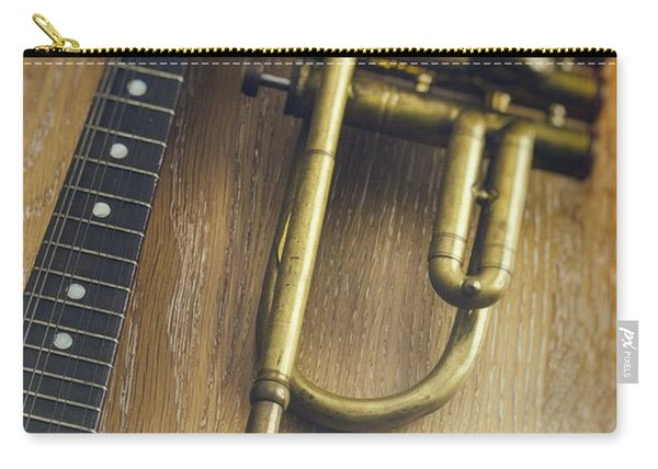 Trumpet And Banjo Carry-all Pouch