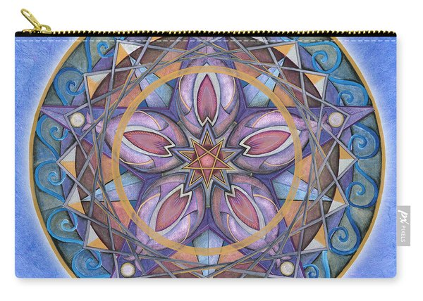 Truth Mandala Carry-all Pouch