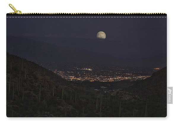 Tucson At Dusk Carry-all Pouch