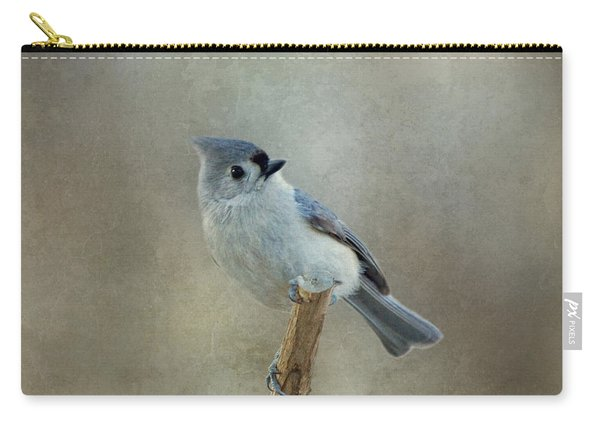 Tufted Titmouse Watching Carry-all Pouch