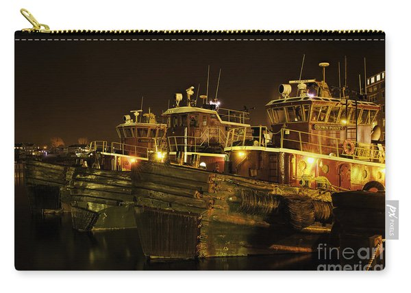 Tugboats 1st Night Dec 2013 Carry-all Pouch