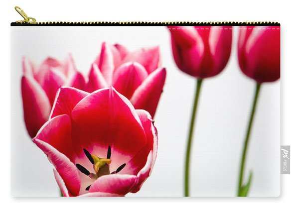 Tulips Say Hello Carry-all Pouch