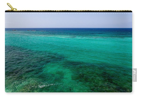 Turks Turquoise Carry-all Pouch