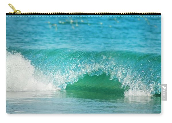Turquois Waves  Carry-all Pouch