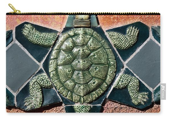 Turtle Mosaic Carry-all Pouch