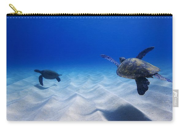 Turtle Pair Carry-all Pouch