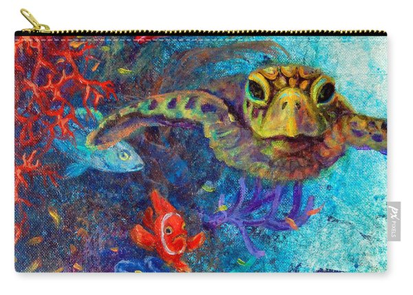 Turtle Wall 2 Carry-all Pouch