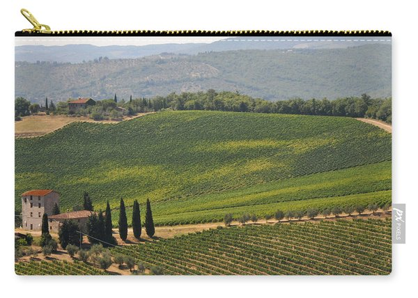 Tuscan Hillside Carry-all Pouch