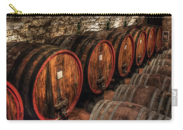 Tuscan Wine Cellar Carry-all Pouch