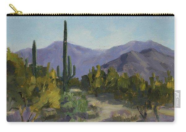 The Serene Desert Carry-all Pouch