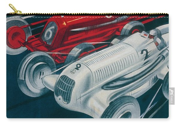Twelfth Italian Grand Prix At Monza Carry-all Pouch
