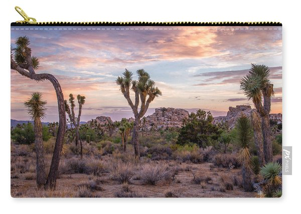 Twilight Comes To Joshua Tree Carry-all Pouch