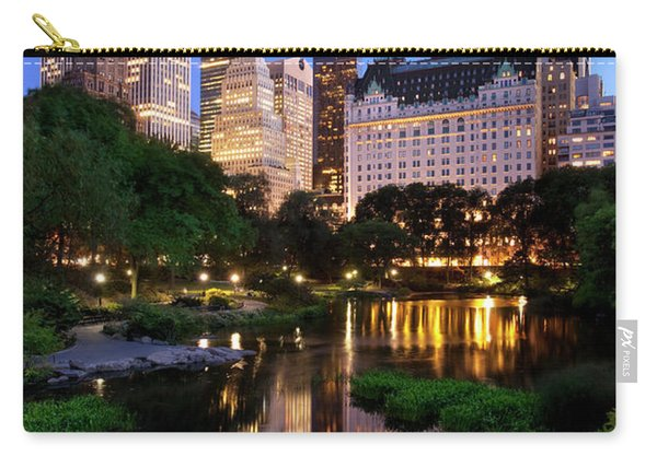 Carry-all Pouch featuring the photograph Twilight Nyc by Brian Jannsen
