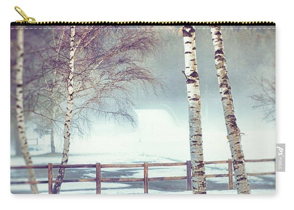 Two Birches Carry-all Pouch