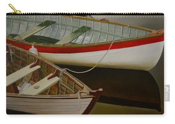 Two Boats Carry-all Pouch
