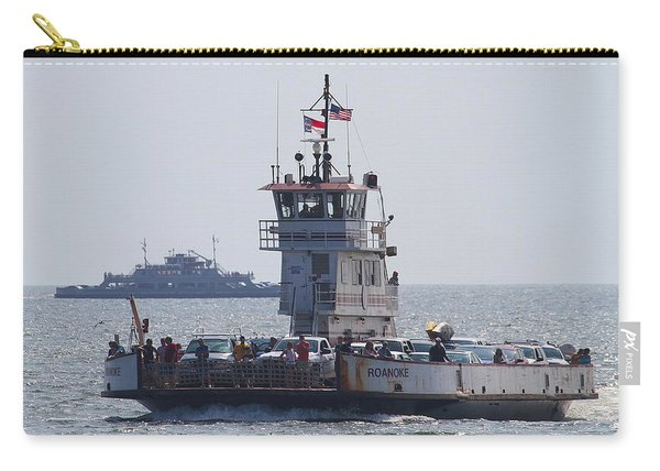 Two Ferries To Ocracoke Carry-all Pouch