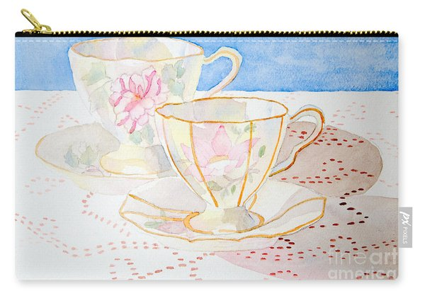Two For Tea Carry-all Pouch