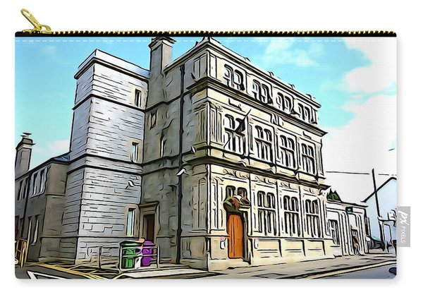 Two Rubbish Bins In Sligo Carry-all Pouch