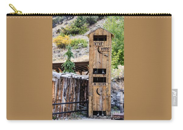 Two-story Outhouse Carry-all Pouch