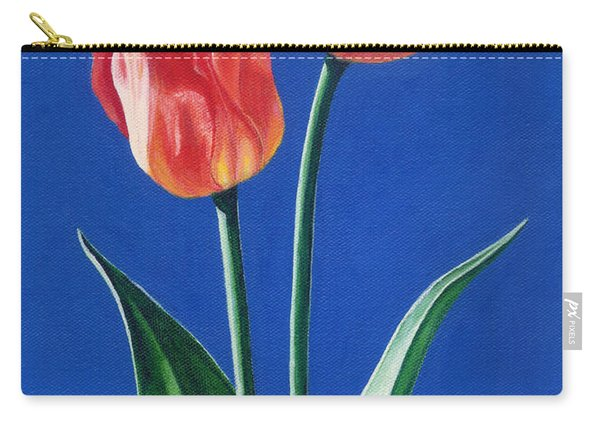 Two Tulips Carry-all Pouch