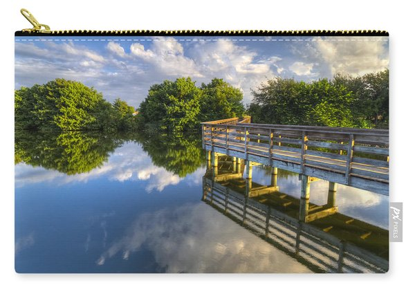 Two Worlds At Wakodahatchee Carry-all Pouch