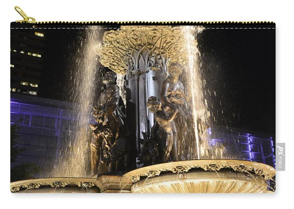 Fx9u-1250 Tyler Davidson Fountain Photo Carry-all Pouch
