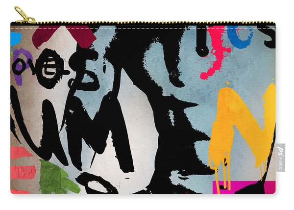Typography Male  Carry-all Pouch
