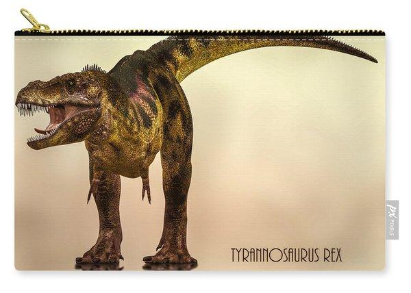 Tyrannosaurus Rex Dinosaur  Carry-all Pouch