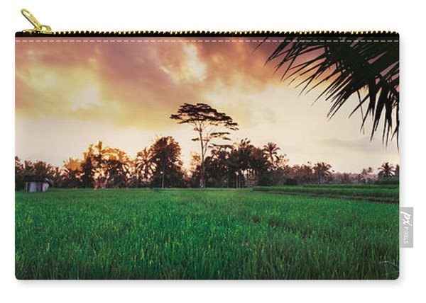 Ubud Rice Fields Carry-all Pouch