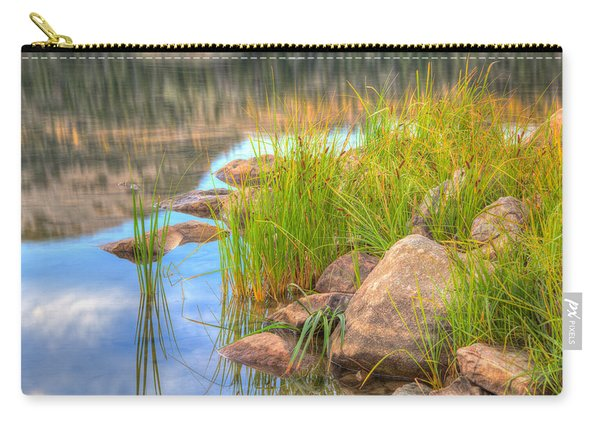 Carry-all Pouch featuring the photograph Uinta Reflections by Dustin  LeFevre