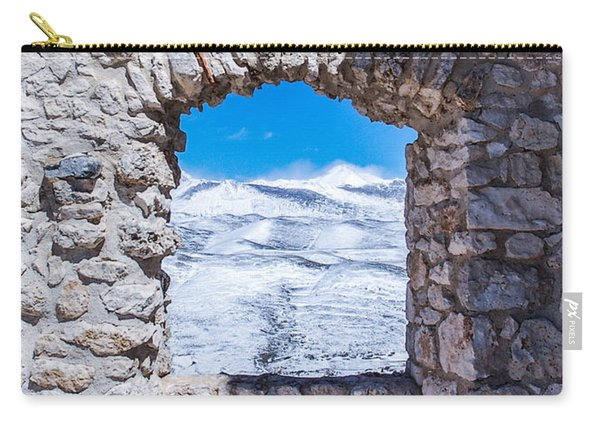 A Window On The World Carry-all Pouch
