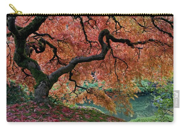 Under Fall's Cover Carry-all Pouch