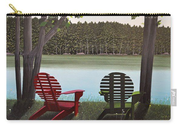 Under Muskoka Trees Carry-all Pouch