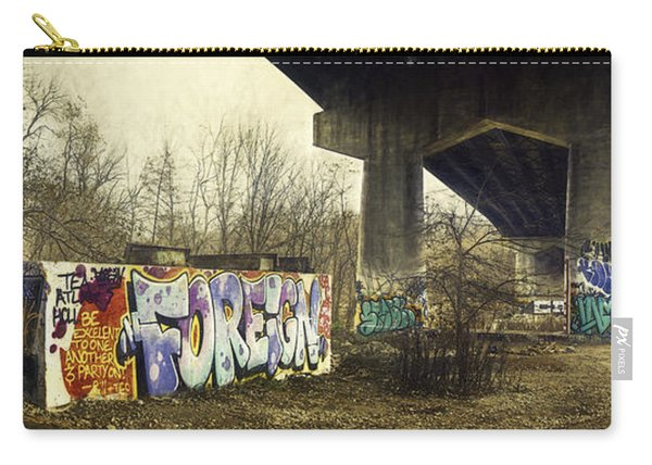 Under The Locust Street Bridge Carry-all Pouch