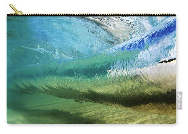Underwater Wave Curl Carry-all Pouch