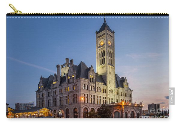 Carry-all Pouch featuring the photograph Union Station  by Brian Jannsen