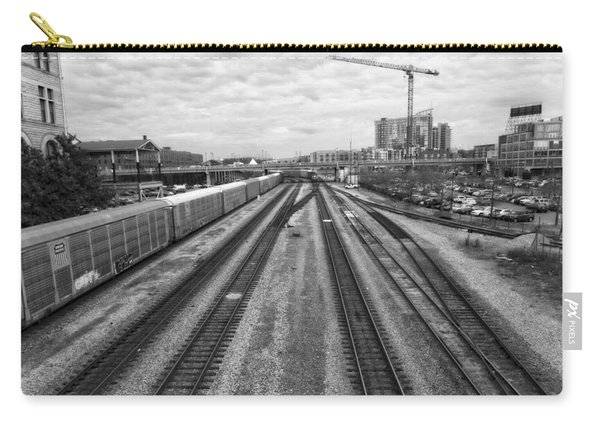 Union Station Railroad Tracks Carry-all Pouch