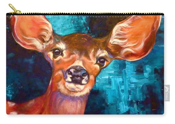 Uniquely Fawn Carry-all Pouch