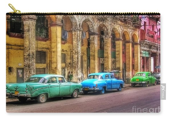United Colors Of Coches Habaneros Carry-all Pouch