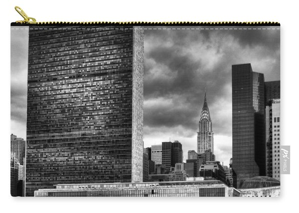 United Nations And Chrysler Building Carry-all Pouch
