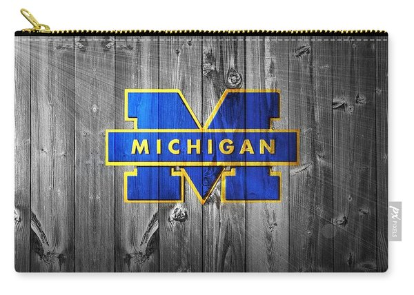University Of Michigan Carry-all Pouch