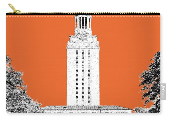 University Of Texas - Coral Carry-all Pouch